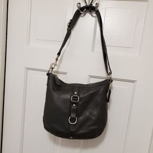 Coach Chelsea Black Leather Hobo